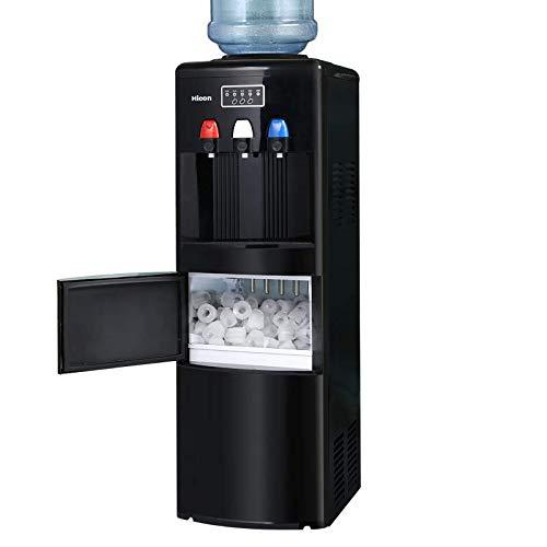 MáQuina Fabricadora De Hielo - Dispensador De Agua 2 En 1 Con ...