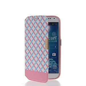 Bloutina MOONCASE Slim Flip Leather Pouch TPU Shell Case Cover For Samsung Galaxy S4 I9500 Babypink