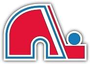 "Quebec Nordiques NHL Hockey Car Bumper Sticker Decal 5"""