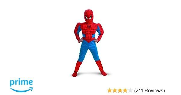 bc1f9c527df9c Amazon.com: Spiderman Muscle - Size: Child M(7-8): Clothing