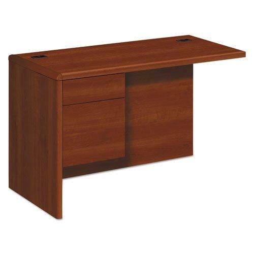HON 10700 Series Left Desk Ret Credenza, Cognac