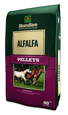 Standlee Premium Products 1175-30101-0-0 Forage, Alfalfa Pellets, 40-Lb. Bag - Quantity -