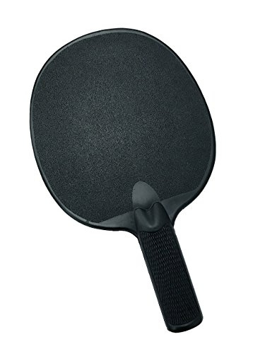 CSI Cannon Sports Black Unbreakable Table Tennis Paddle (Racket Plastic Tennis)
