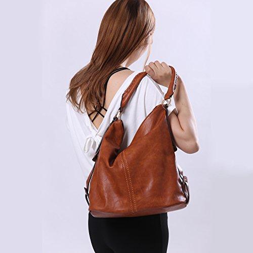 Black Tote Handbag Shoulder PU Crossbody for Bag Women Leather Purse Large Bags Hobo FqwT7vq