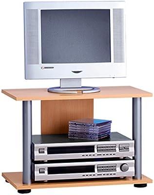 Mueble para TV, color madera de haya, 59 x 40,5 x 33,5 cm-PEGANE-: Amazon.es: Hogar