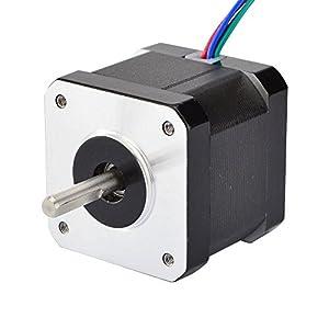 0.9deg Nema 17 Stepper Motor Bipolar 0.9A 36Ncm/50oz.in 42x42x39mm 4-wires DIY by STEPPERONLINE
