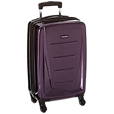 Samsonite Winfield 2 Fashion Hardside 20 Spinner, Purple, One Size