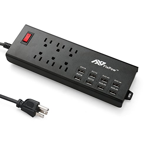 galleon belkin 6 outlet commercial power strip surge protector with 6 foot power cord and. Black Bedroom Furniture Sets. Home Design Ideas
