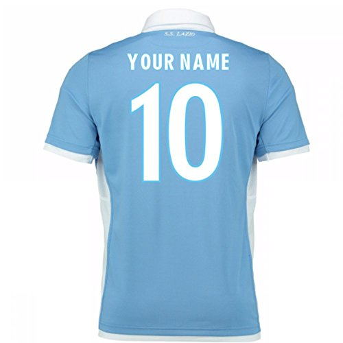 Macron 2016-17 Lazio Home Shirt (Your Name) - Lazio Home Shirt