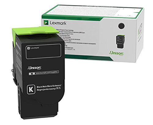 Lexmark C241XK0 Black Extra High Yield Return Program Cartridge Toner, Grey