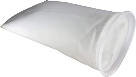 Lot of 5-5 Micron Welded Polyester Felt Filter Bag 7 x 32 Industrial Size #2