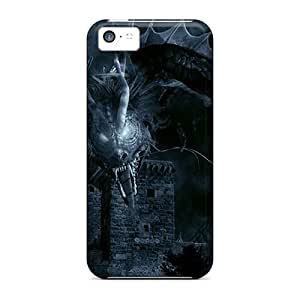 High Grade MarilouLCarlson Flexible Tpu Case For Iphone 5c - Dragon