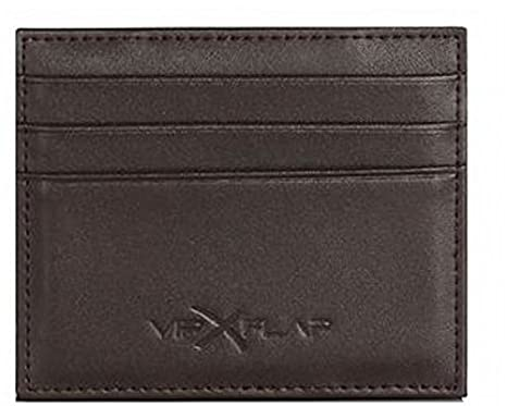 nuovo di zecca 6a95b f6342 Vip Flap Portafoglio Porta Carte Linea Leather Colored Edition (MARRONE)