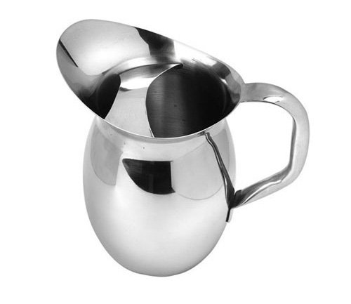 American Metalcraft (BPG67) 68 oz Stainless Steel Bell Pitcher w/Ice ()