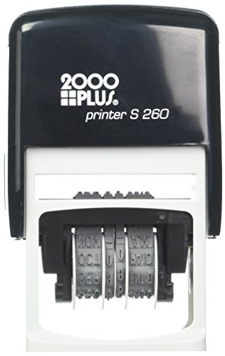 Self 2000 Plus Inking (2000 PLUS Economy Self-Inking Message Dater, FAXED, PAID, RECEIVED, ENTERED, 7/8