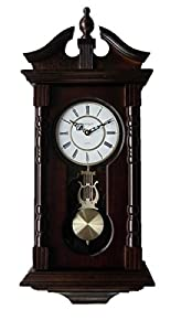 Wall clocks grandfather wood wall clock with chime pendulum wood traditional clock - Wall mounted grandfather clock ...