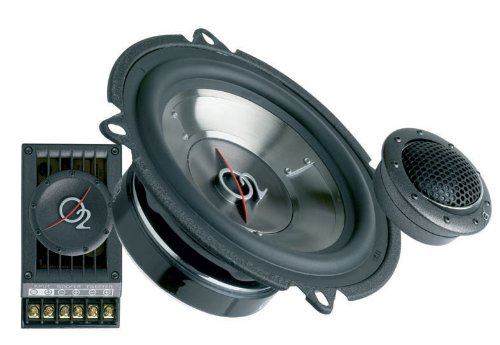Oxygen Audio SPIRAL5 5.25 inch. 2-Way Component, 120 Wattts RMS (O2 SPIRAL-5)