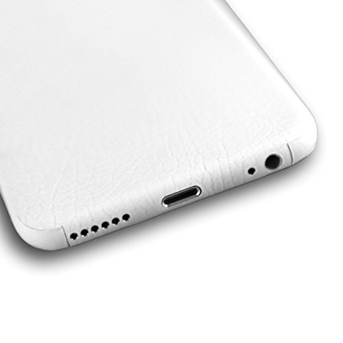 AppSkins Vorderseite iPhone 6 Leather white