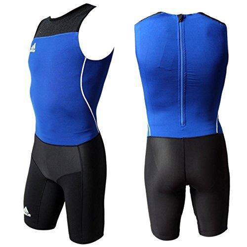 adidas WL Men's Suit Athletic Weightlifting One piece Suit Jumpsuit D2 | US XS | Fr 156