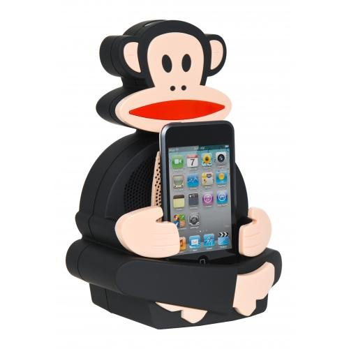 Paul Frank Julius Dance Machine Speaker Dock - Compatible with iPod / iPhone 3G 3GS 4 - Frank Designer Paul
