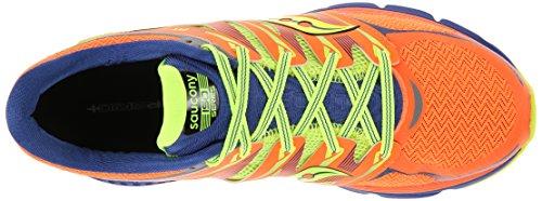 Saucony Zealot - Zapatillas de running unisex rojo y amarillo