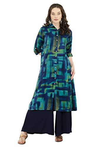 Kurta Kurti - Lagi Kurtis Ethnic Women Kurta Kurti Tunic Digital Print Top Dress Casual Wear New Launch