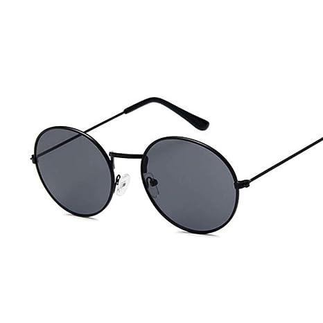 Yangjing-hl Gafas de Sol ovales Retro Hombres Mujeres ...