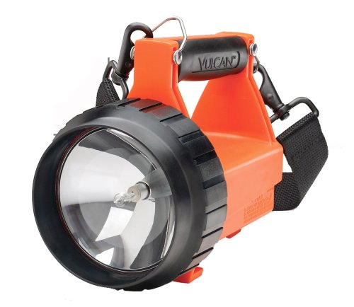 (Streamlight 44400 Fire Vulcan Standard System Floodlight with Dual Rear LEDs, Orange)