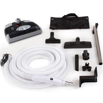GV gv1b-black35 35 Ft Central Vacuum Kit with Carpet Power Head, Hose and Tool -  GV_Air1
