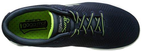 Skechers Go Walk 2 Surge, Sneaker Uomo, Blu (NVLM), 41