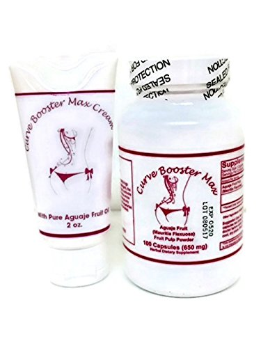Curve Booster Max Pills And Cream Kit For Butt And Breast Enhancement