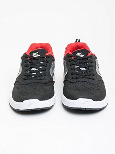 New Balance  868, Baskets pour homme noir noir - multi - Black White Red, 43 EU EU