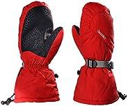 Men Women Ski Gloves Waterproof Outdoor Warm Windproof Anti-Slip Winter Sports