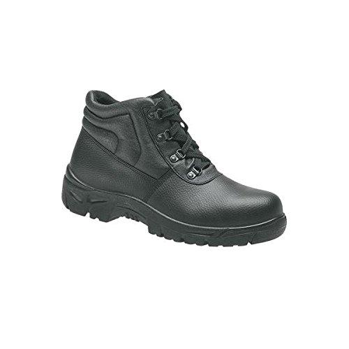 Grafters - Zapatos de cordones de cuero para hombre negro negro, color negro, talla 44