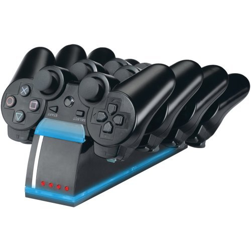 1 - PlayStation(R)3 Quad Charging Dock, Charges & stores up to 4 PS3(TM) controllers at once, Features custom illumination while charging, DGPS3-1339 (Quad Charge Station)