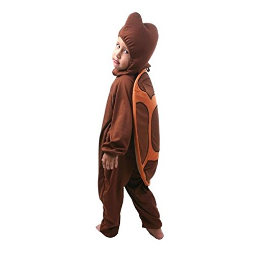 Fantasia Tartaruga Infantil Sulamericana Fantasias Marrom 6 Anos