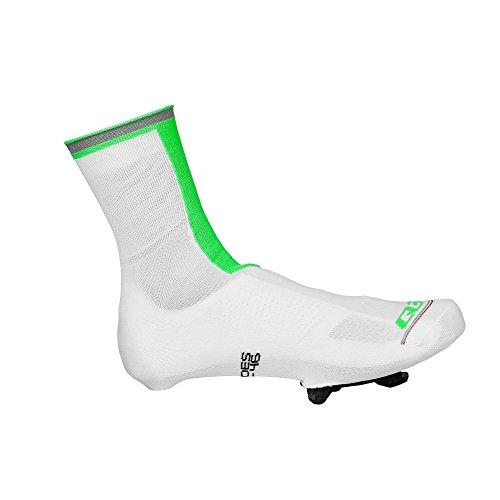 q36.5copriscarpa Overshoes, negro, 40-43 blanco