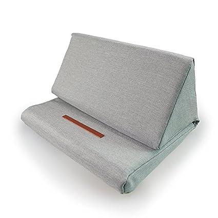Houkiper Soporte de almohada portátil de la tableta, cojín angulado de la almohada del ordenador