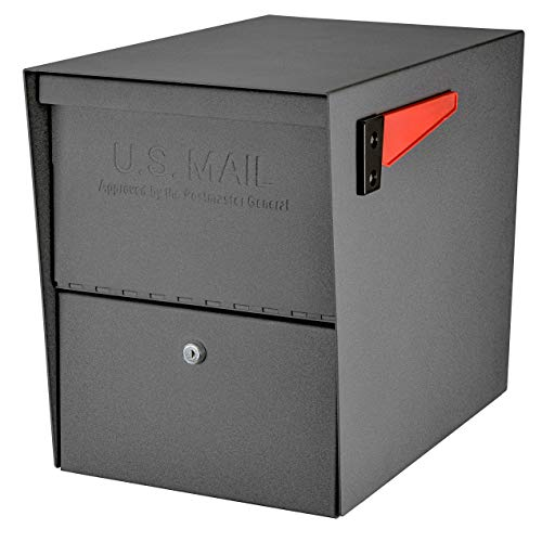 Mail Boss Package Master Security, Granite 7205 Locking Mailbox (Design Mailbox Ideas)