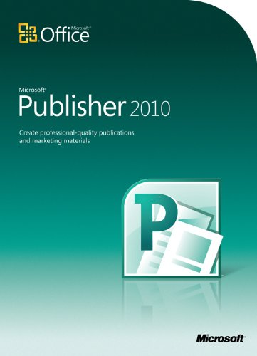 Microsoft office publisher 2010 sale