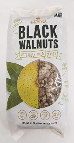 Hammons American Black Walnuts,24 Ounce by Hammons