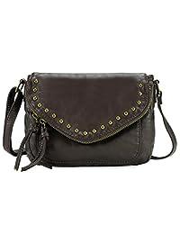 Scarleton Chic Zipper Flap Crossbody Bag H1716