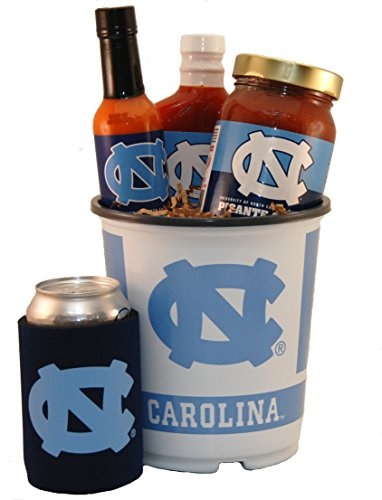 University of North Carolina Tailgate Grilling Gift Basket Small