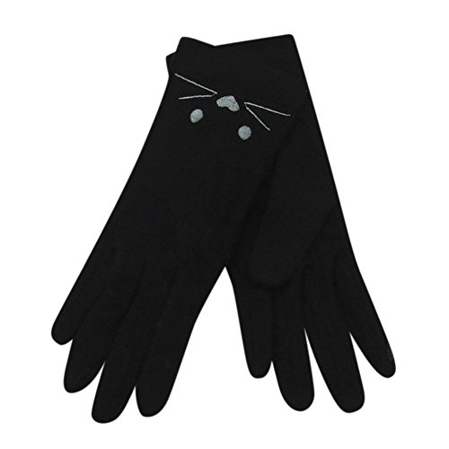 Embroidered Winter Gloves - 7