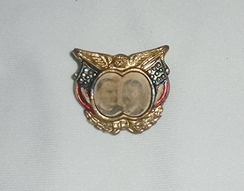 "scarce-rare campaign political pin pinback MCKINLEY & TEDDY""ROUGH RIDERS"" ROOSEVELT"