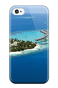 Hot Tough Iphone Case Cover/ Case For Iphone 4/4s(tropical Island)