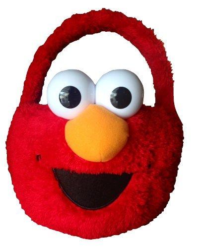 Sesame Street Elmo Plush Basket for $<!---->