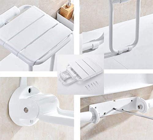 Haushalt rutschfester Duschhocker Bad Hocker for senioren Sicher Anwendbar speichern Raum / Duschhocker faltbare Wand Duschhocker Brause-Wand-Sitzhocker Badhocker for Behinderte Kreative multifunktion