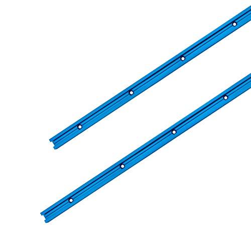 POWERTEC 71158 Double-Cut Profile Universal T-Track