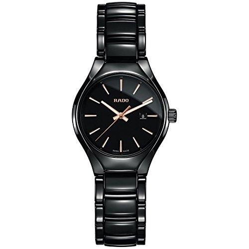 Rado-Black-Dial-Black-Ceramic-Ladies-Watch-R27059162